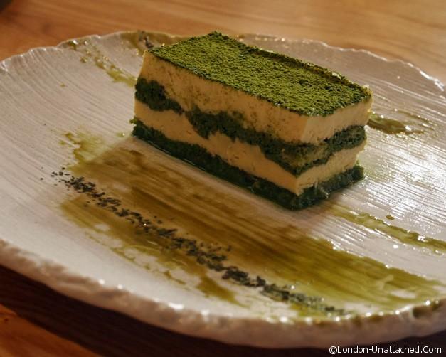 Kouzu - Green Tea Tiramisu