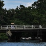 Sri Lanka River Boat Safari - crossing