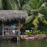 Sri Lanka River Boat Safari traders