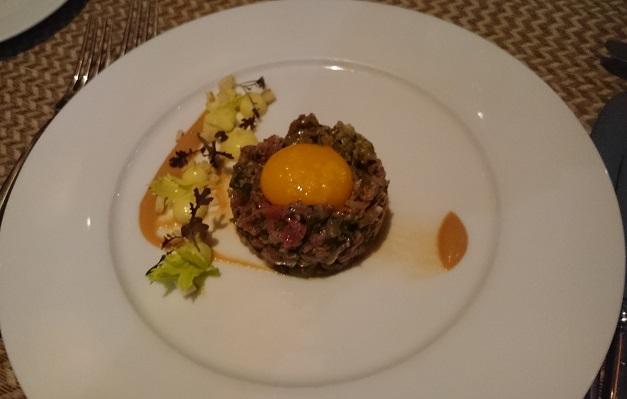 Steak tartare one canada square