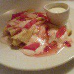 The Gun - Pancakes rhubarb