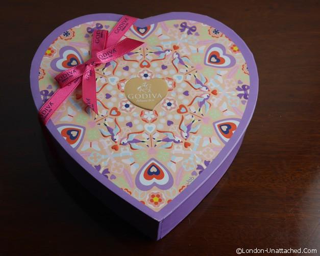 Valentine Chocolates - Godiva