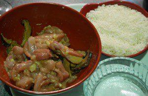 Claypot Chicken and Mushroom Rice