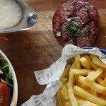 steak with horseradish