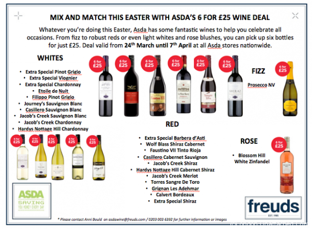 Asda wine offers