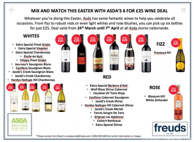 Asda wine offers