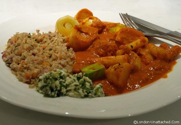 Bonapeti - salsify tandoori curry