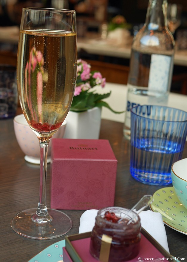 Champagne at Pont Street