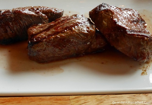 Gaucho trio of steak