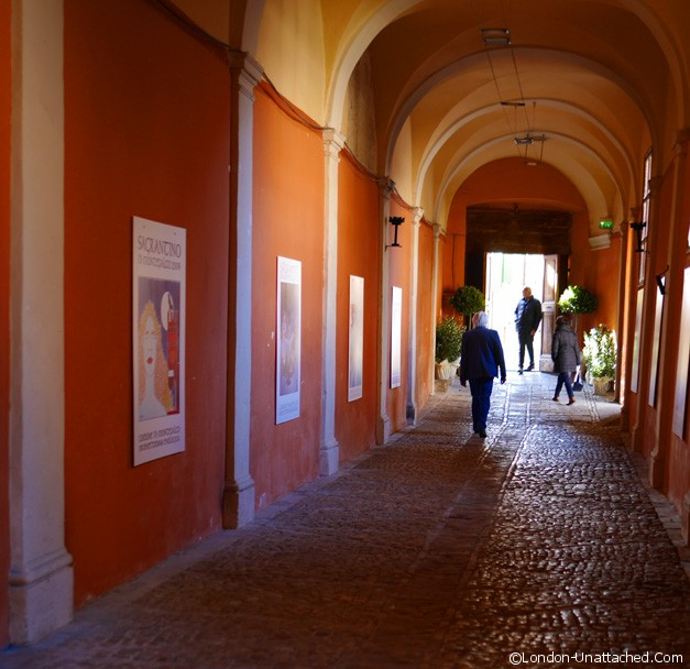 Entrance to the Montefalco Sagrantino Vintage Launch