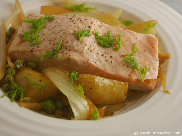 One pan salmon with fennel 2