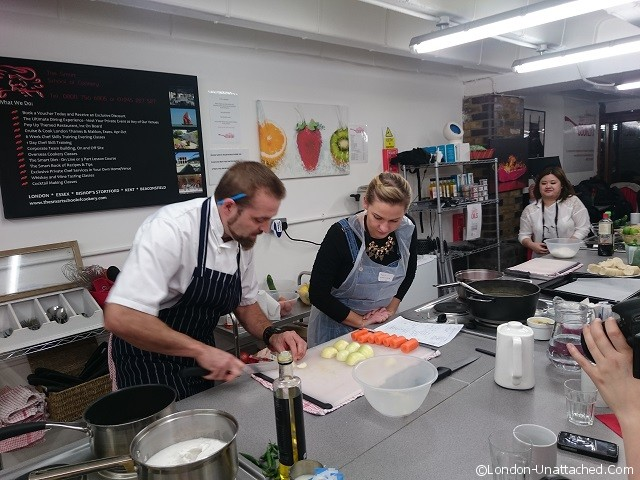Smart School of Cookery in London