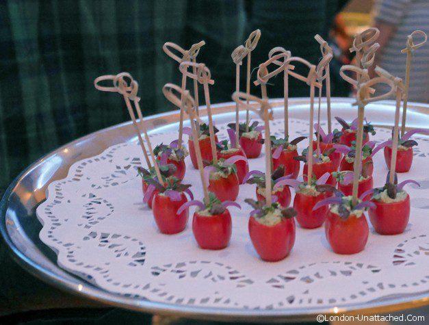 Stuffed sicilian tomatoes