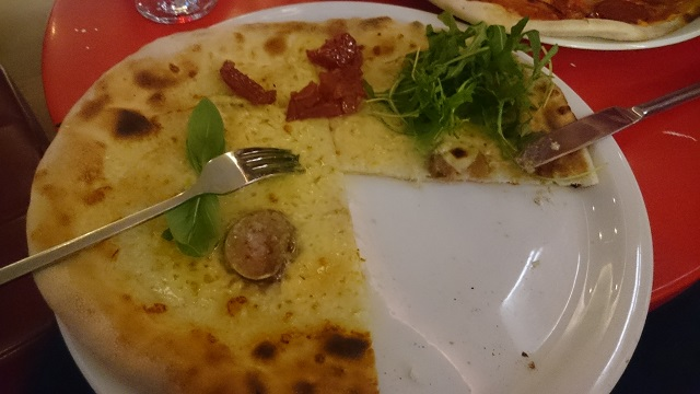 Dell'Alpe pizza | Vapiano southbank