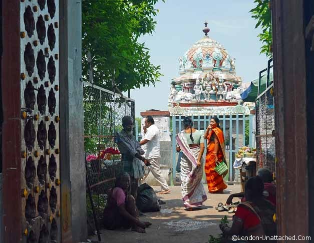Entrance to the temple - chennai