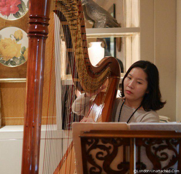 Harpist - sofitel london st james
