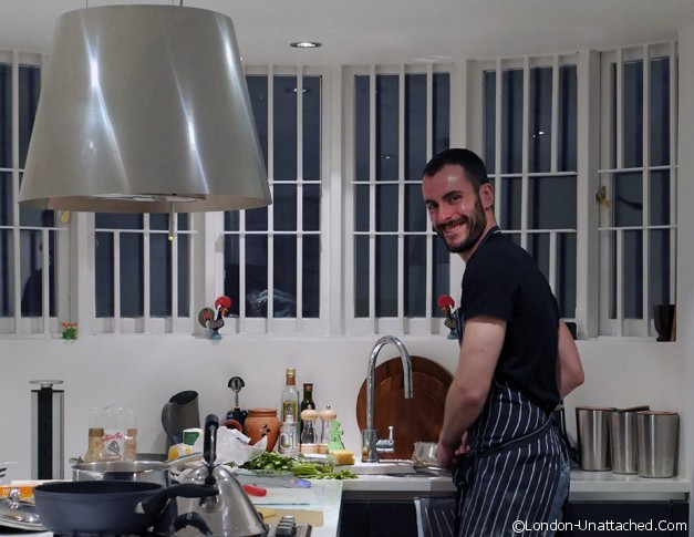 La Belle Assiette - kitchen takeover