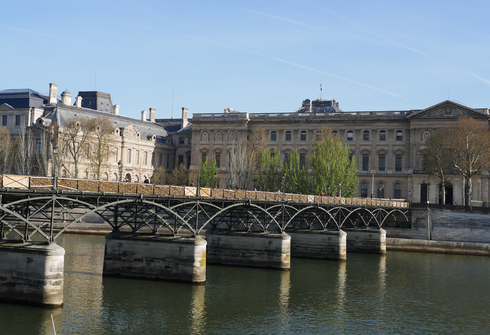 Locks, Seine Paris