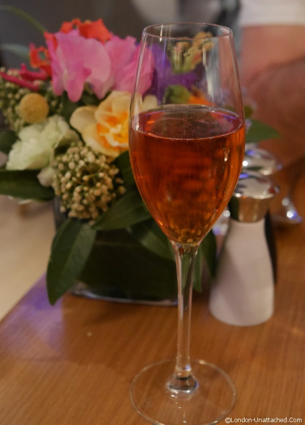 Mexican event rose wine