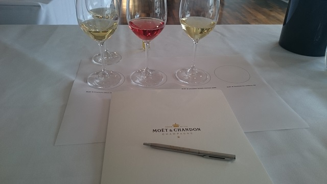 Tasting Champagne with the Moët Academy