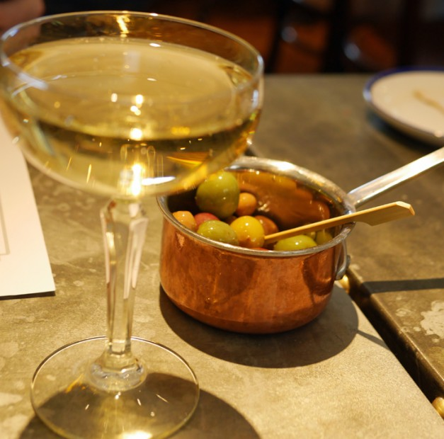 West thirty Six Fizz and Olives