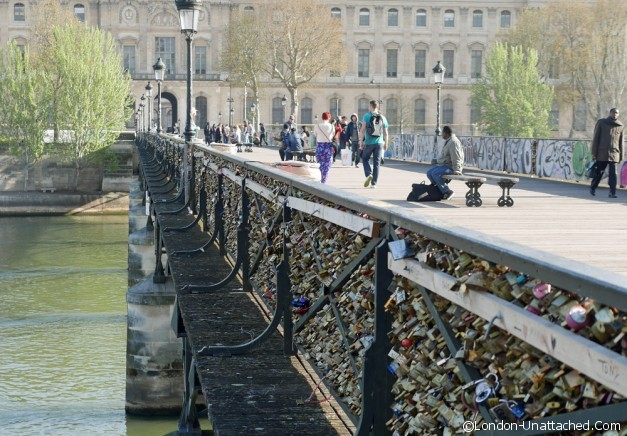 locks, bridge, paris, seine
