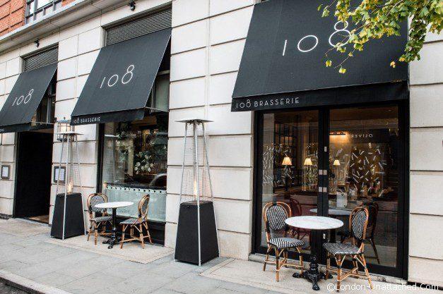 outside 108 Brasserie