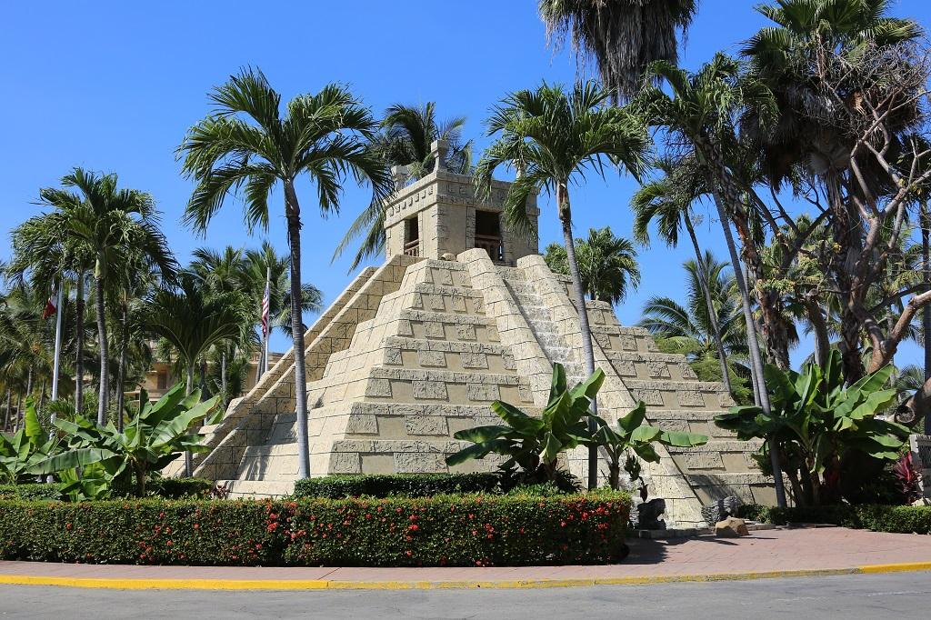 Aztec Pyramid in Nuevo Vallarta