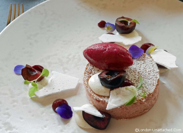 Dessert - sake no hana