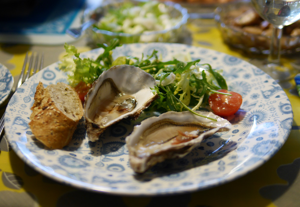Lavender & Lovage Cookery oysters 2