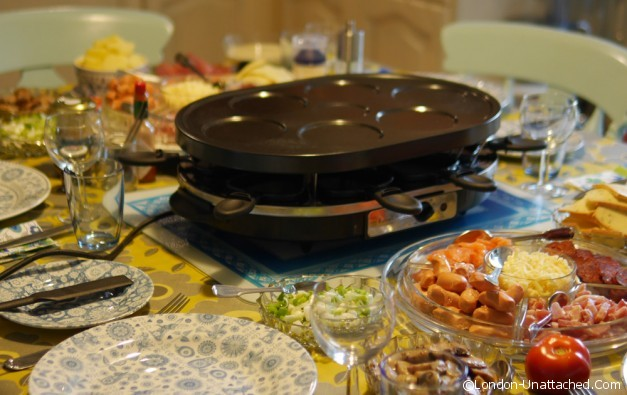 Lavender & Lovage Cookery raclette 2