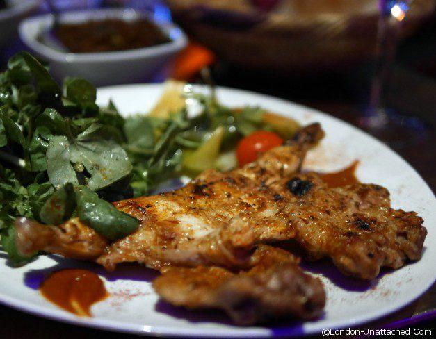 Mamounia Lounge chicken