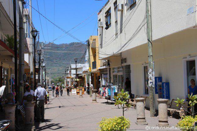 Mexico Town Street