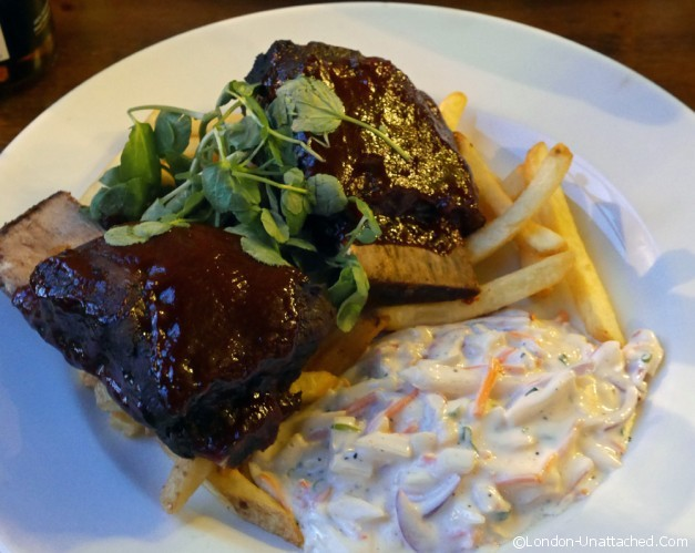 Slow Cooked Beef Short Rib - The Albany