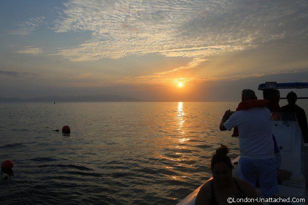 Sunrise at Sea in Riviara Nayarit