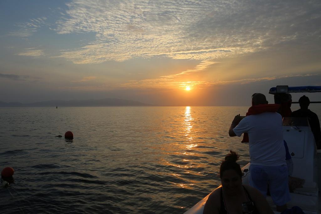 Sunrise at Sea in Riviara Nayarit - Nuevo Vallarta