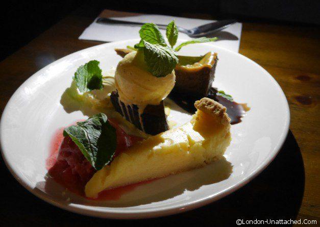 The Albany sharing dessert platter