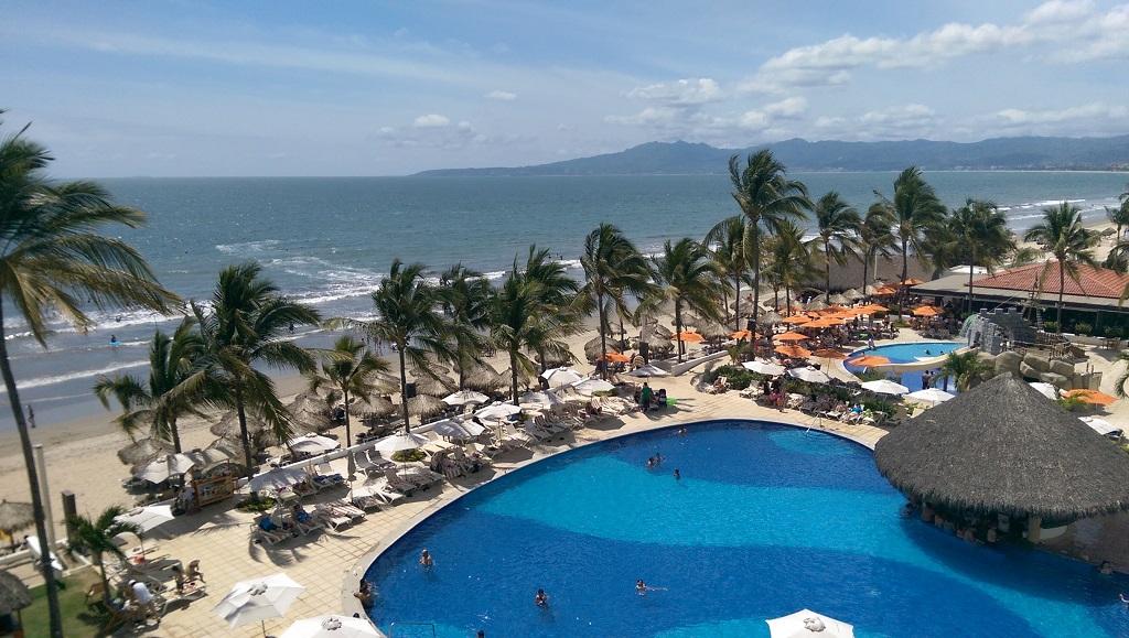 View from Marival Resort Hotel Room - Nuevo Vallarta