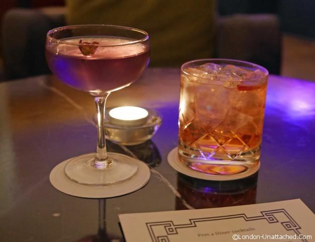 cocktails pret a diner