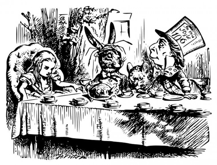 Mad Hatters Tea Party without the IngeniuTEA