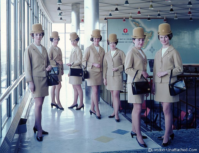 Air Hostesses in 1965