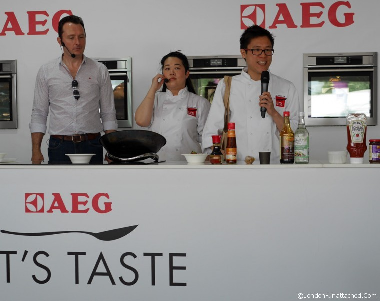 AEG at Taste of London