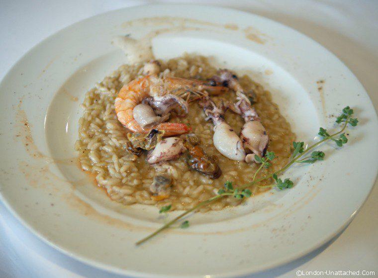 Acciuga - seafood risotto