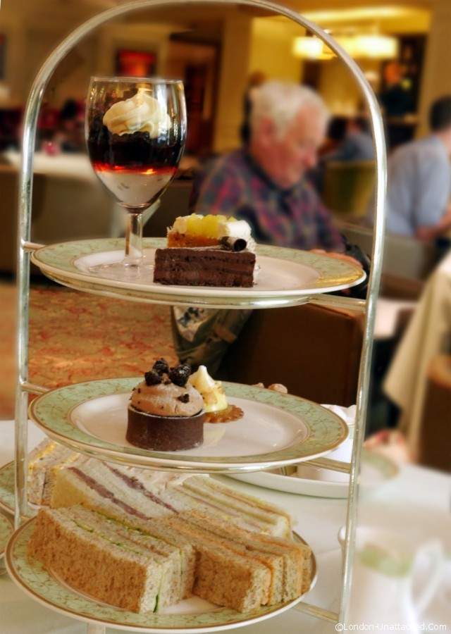 Afternoon Tea at Grosvenor House Hotel