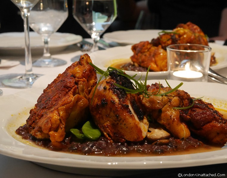 Asia de Cuba- Seven Spice Half chicken