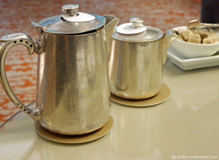 Athenaeum teapots and water