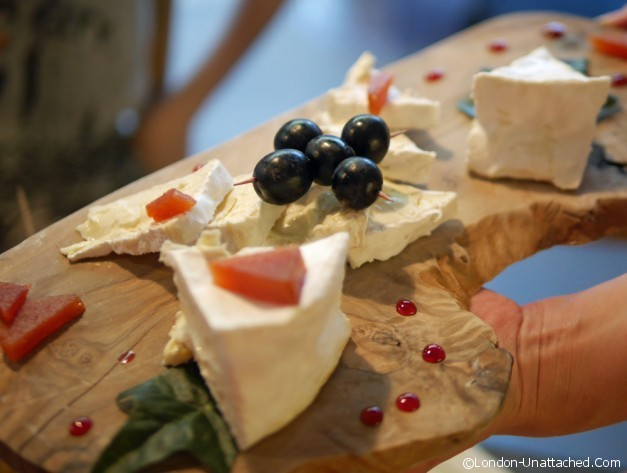 Champagne and Fromage Brixton Brillat Savarin