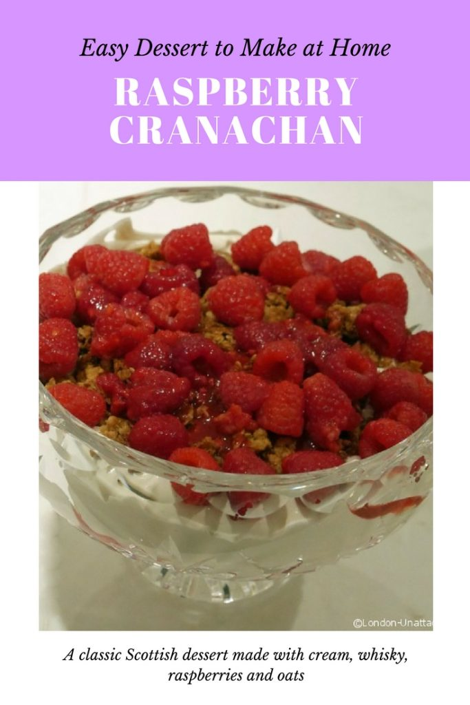 Easy Cranachan Recipe to make at home - Raspberry Cranachan