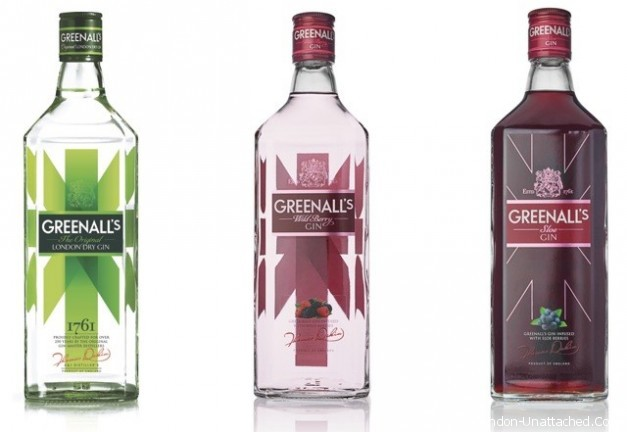 Greenalls Gin Varieties