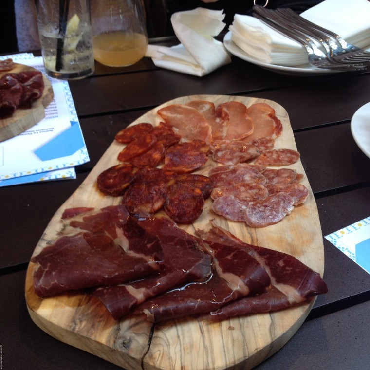 Cured meats at Iberrica La Terraza